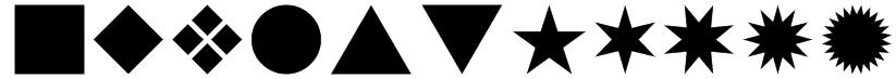 SwishButtons Font