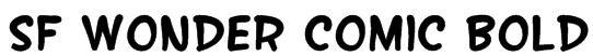 SF Wonder Comic Bold Font