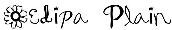 Oedipa Plain Font