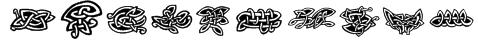 Tattoo No2 Font
