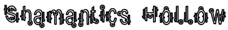 Shamantics Hollow Font