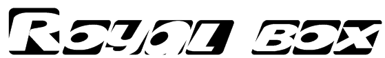 Royal box Font