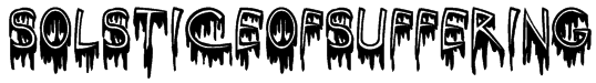 SolsticeOfSuffering Font