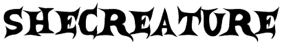 SheCreature Font
