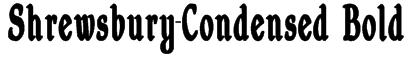 Shrewsbury-Condensed Bold Font