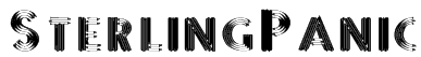 SterlingPanic Font