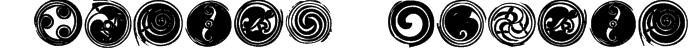 Spirals Regular Font