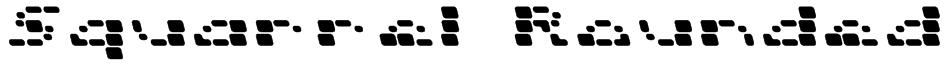 Squarrel  Rounded Font