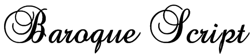 Baroque antique script font download free / legionfonts.