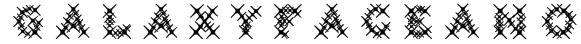 GalaxyfaceAno Font