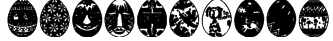 AfricanEggs Font