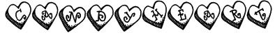 DJ Candy Heart Font