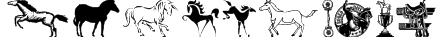 Horses Font