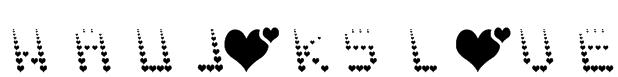 NAUJOKS LOVE Font