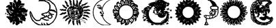 SunandMoon Font