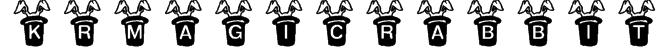 KR Magic Rabbit Font