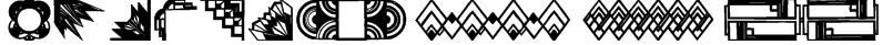 ArtDeco Motif Font