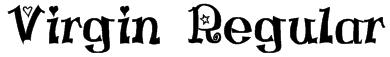 Virgin Regular Font