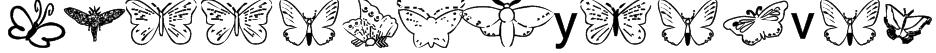 ButterflyHeaven Font