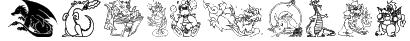Lisa's Dragons Font