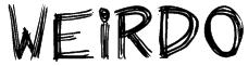 Weirdo Font