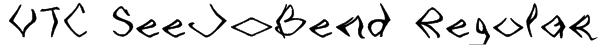 VTC SeeJoBend Regular Font