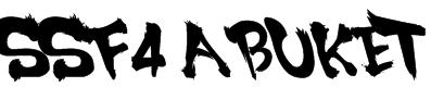 SSF4 ABUKET Font