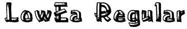 LowEa Regular Font