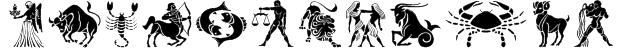 GE Zodiac Font