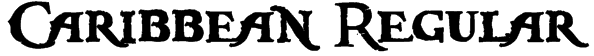 Caribbean Regular Font