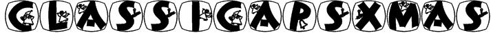 ClassiCapsXmas Font
