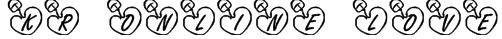 KR Online Love Font