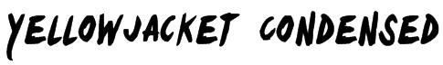 Yellowjacket Condensed Font