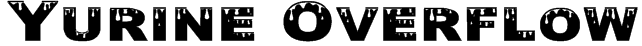 Yurine Overflow Font