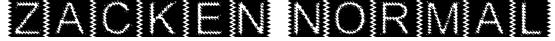 Zacken Normal Font