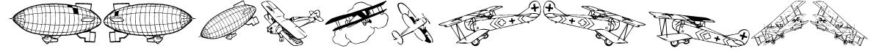 Aeroplanes Font