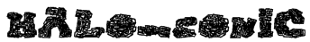 halo-sonic Font