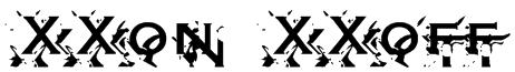 XXon XXoff Font