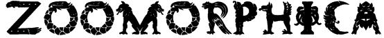 Zoomorphica Font