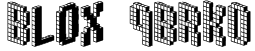 Blox (BRK) Font