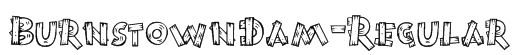 BurnstownDam-Regular Font