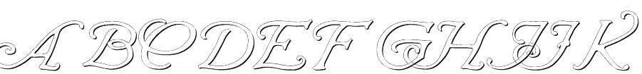 Wrenn Initials Embossed Font