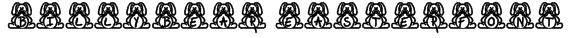 BillyBear EasterFont Font