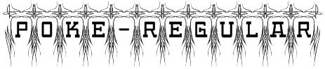 Poke-Regular Font