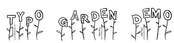 Typo Garden Demo Font