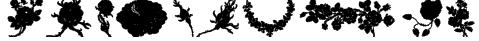 Rosegarden Font