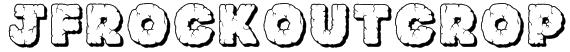 JFRockOutcrop Font