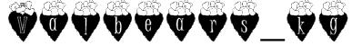 Valbears_kg Font
