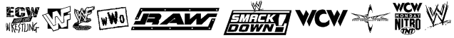 Pro Wrestling Logos Font