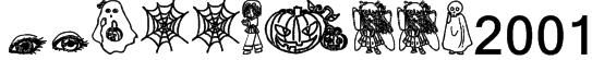 halloween2001 Font